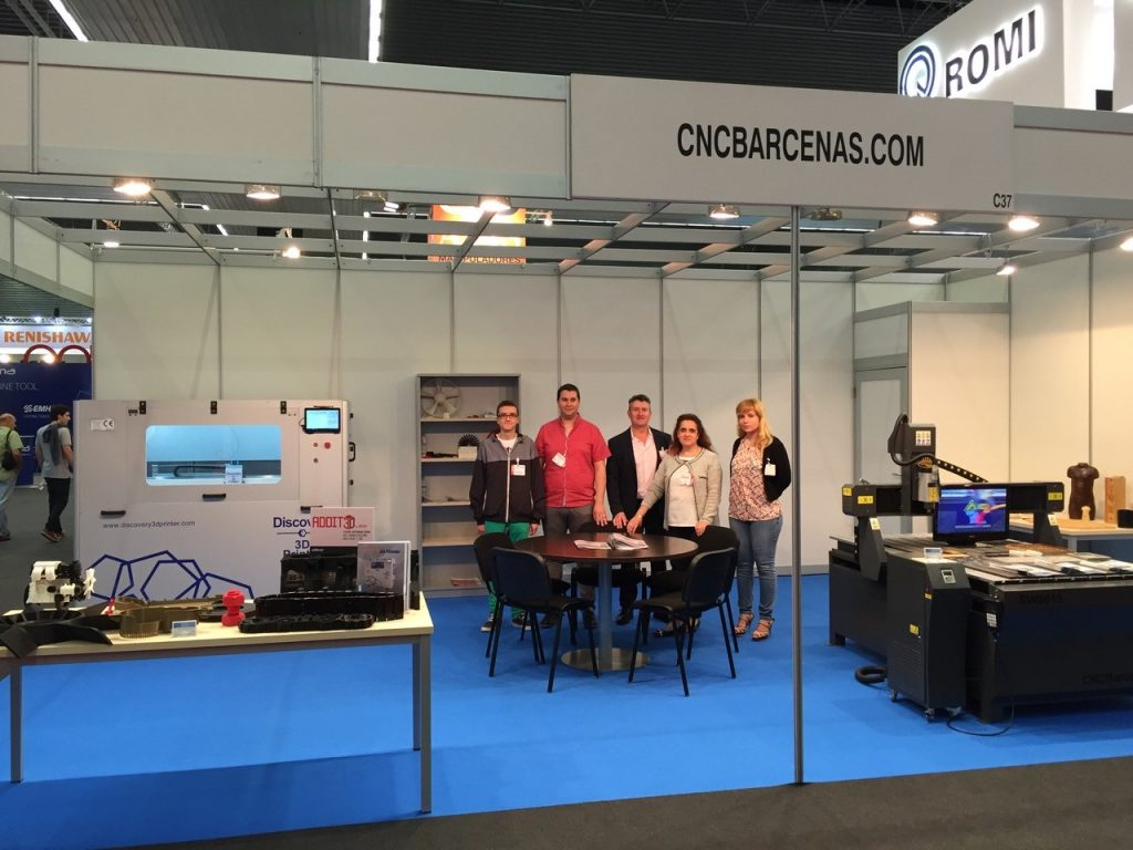 Equipo CNC Barcenas en BIEMH-ADDIT3D 2016