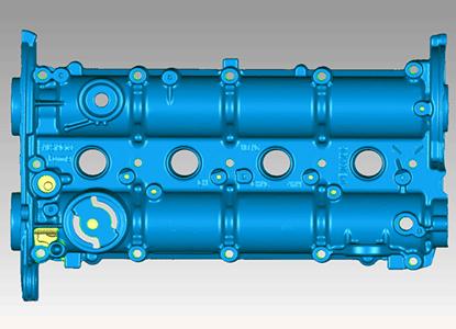 Modelo 3D escaneada con FreeScan X5 y X7