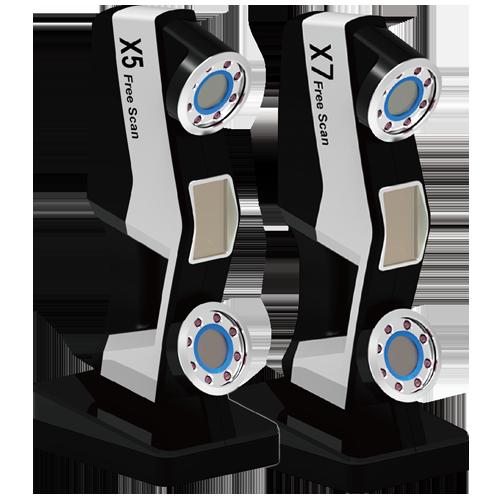 Escáner 3D industrial FreeScan X5 y X7