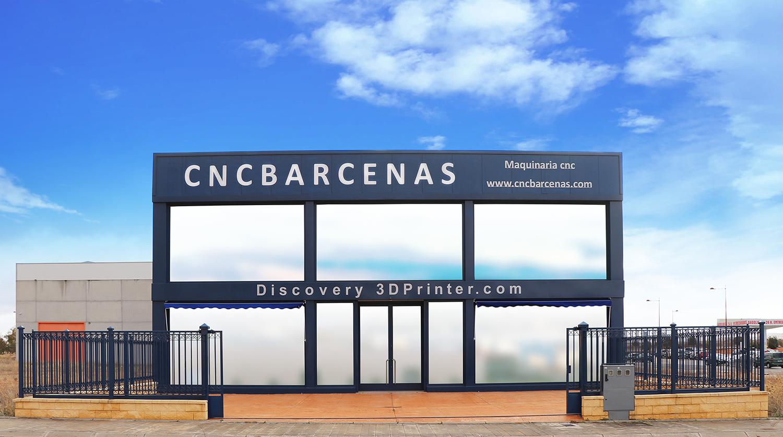 Fachada CNC Bárcenas