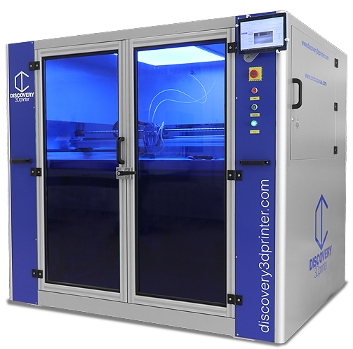 Industrial 3D printer discovery