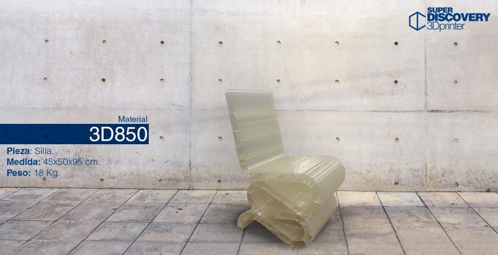 material 3D850 granza