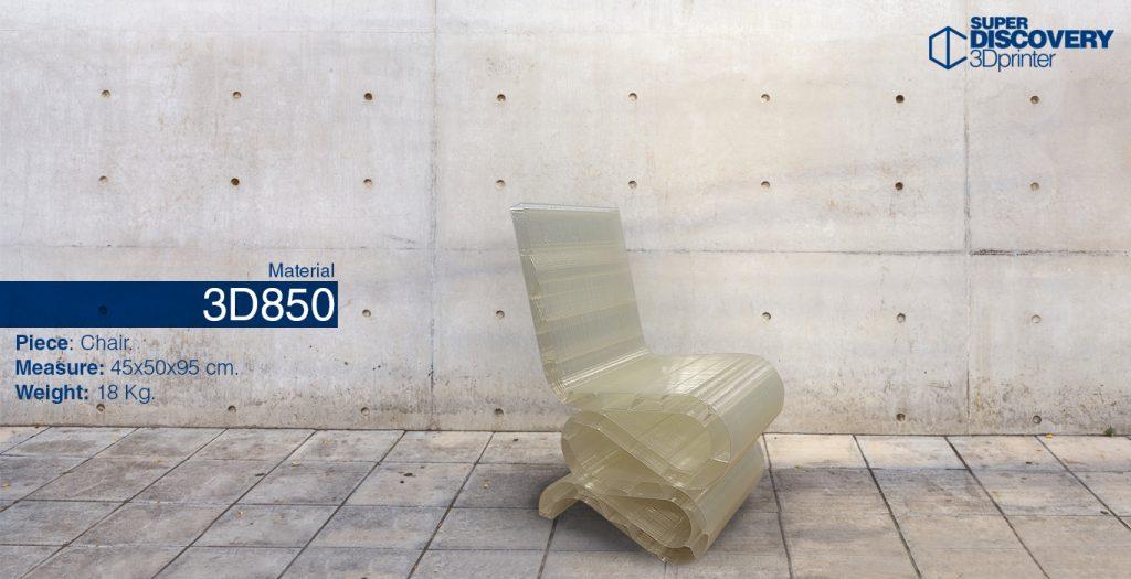 material 3D850 pellet