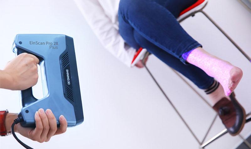 escáner 3D medicina