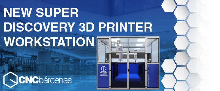 postprocessing Super discovery 3D printer Workstation