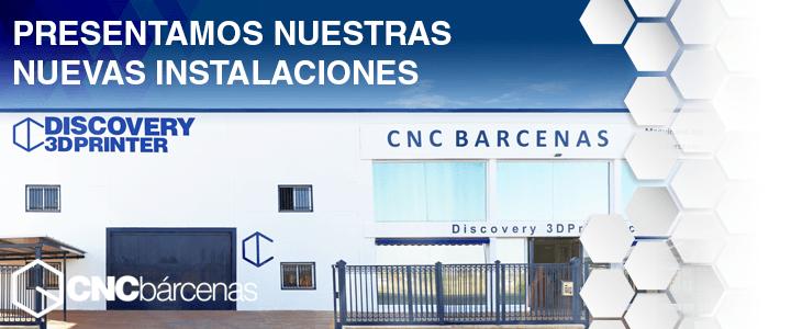 cnc barcenas discovery 3d printer