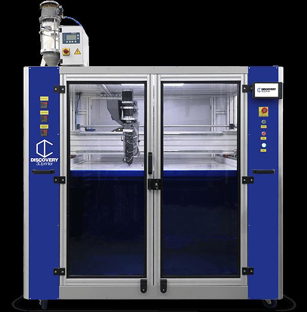 impresora 3D de granza compacta